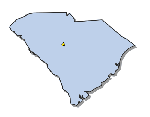 South Carolina   Http   Www Wpclipart Com Geography Us States South