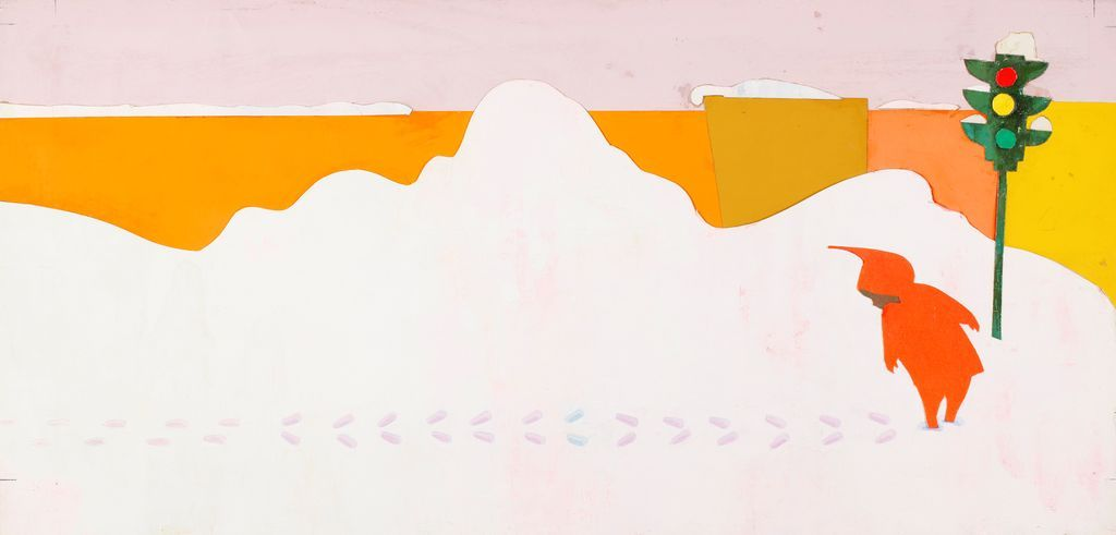 The Snowy Day And The Art Of Ezra Jack Keats   Metroframe S Blog