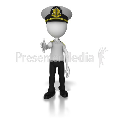 Captain Reaching Out Hand   Presentation Clipart   Great Clipart For