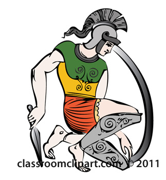 Clipart   Greek Army   Classroom Clipart