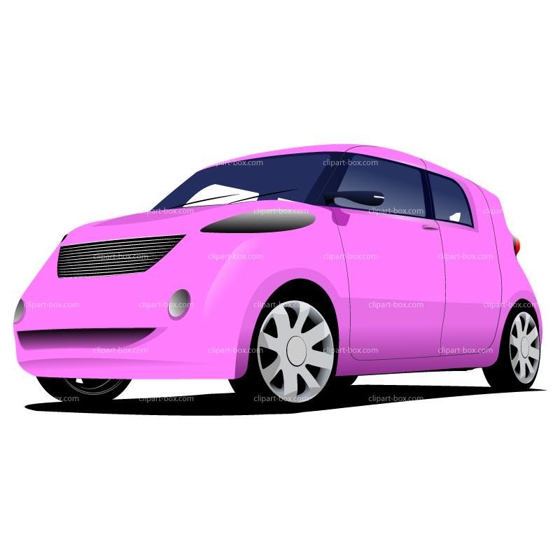 Pink Car Clipart - Clipart Kid
