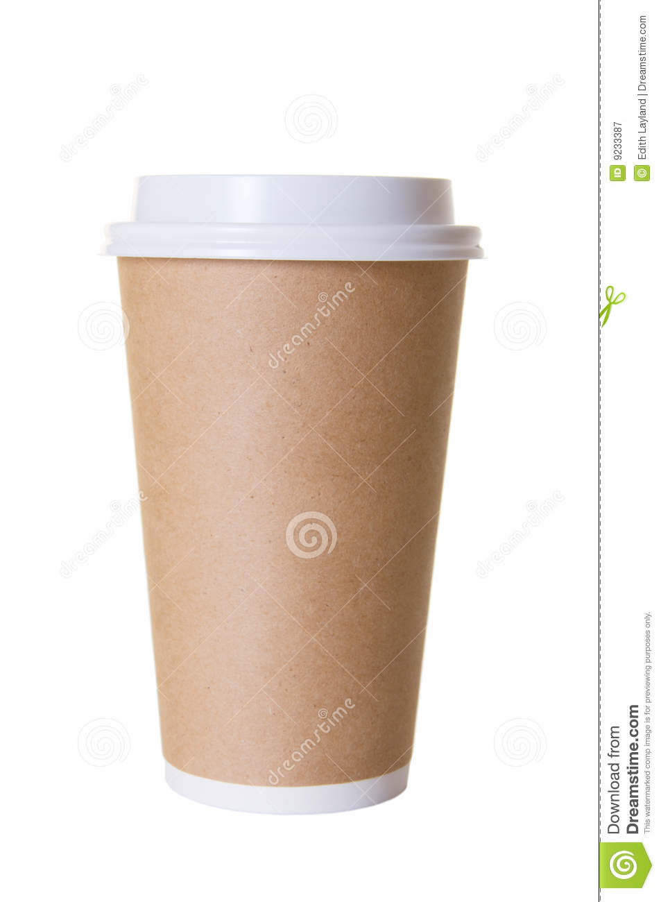 Coffee To Go Cup Isolated Royalty Free Stock Photography   Image