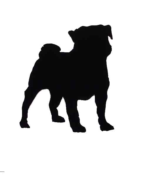 Dogs Pug French Scottie Dog Silhouette Clipart   Free Clip Art Images