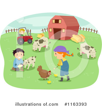Farm Clipart  1163393 By Bnp Design Studio   Royalty Free  Rf  Stock