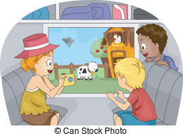 Field Trip Illustrations And Clipart  868 Field Trip Royalty Free