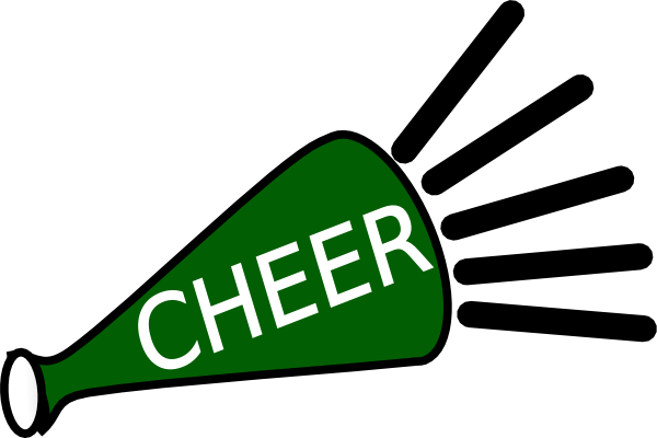 cheer megaphone clipart clipart suggest