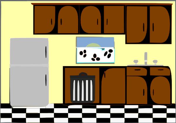 Kitchen Design Clipart