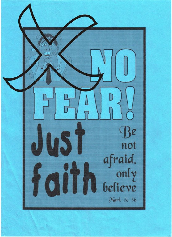 No Fear  Just Faith   Free Clip Art For Christians