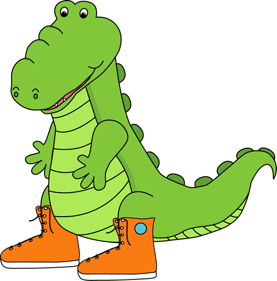Cute Alligator Clipart - Clipart Suggest