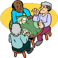 Picture Of Seniors Playing Cards