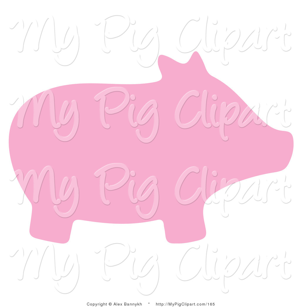 Pink Pig Clipart - Clipart Suggest