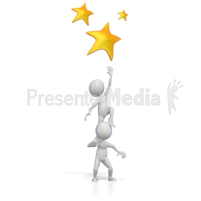 Reaching For The Stars   Medical And Health   Great Clipart For