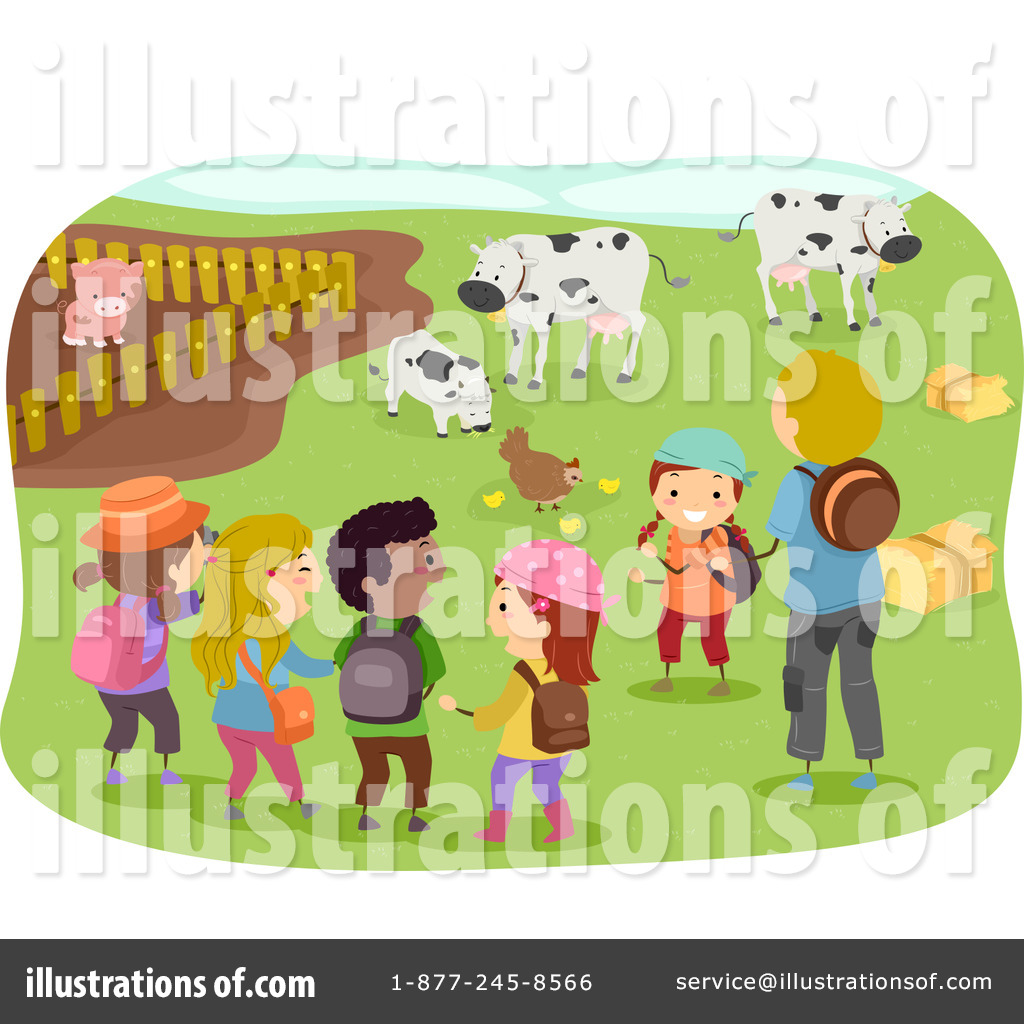 Royalty Free  Rf  Field Trip Clipart Illustration By Bnp Design Studio
