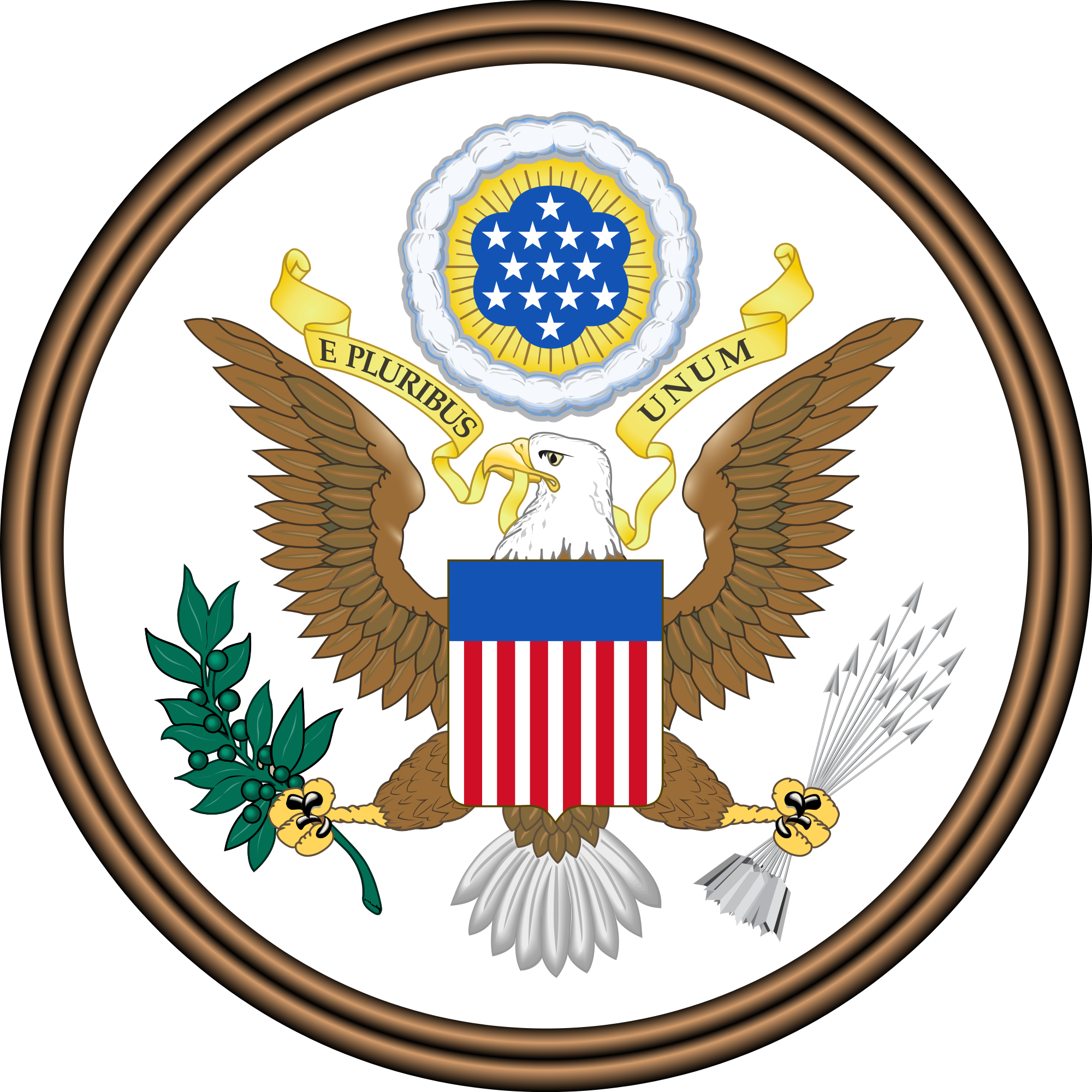 The Great Seal Of The United States   Patriotspokenword Com   Patriots