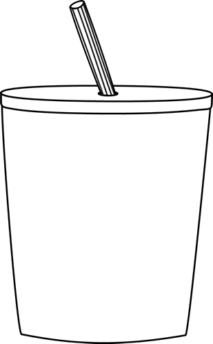 To Go Cup Black White Png