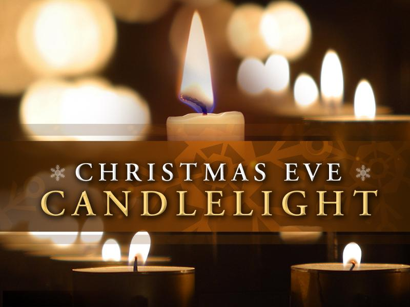 Christmas Eve Candlelight Service Clip Art