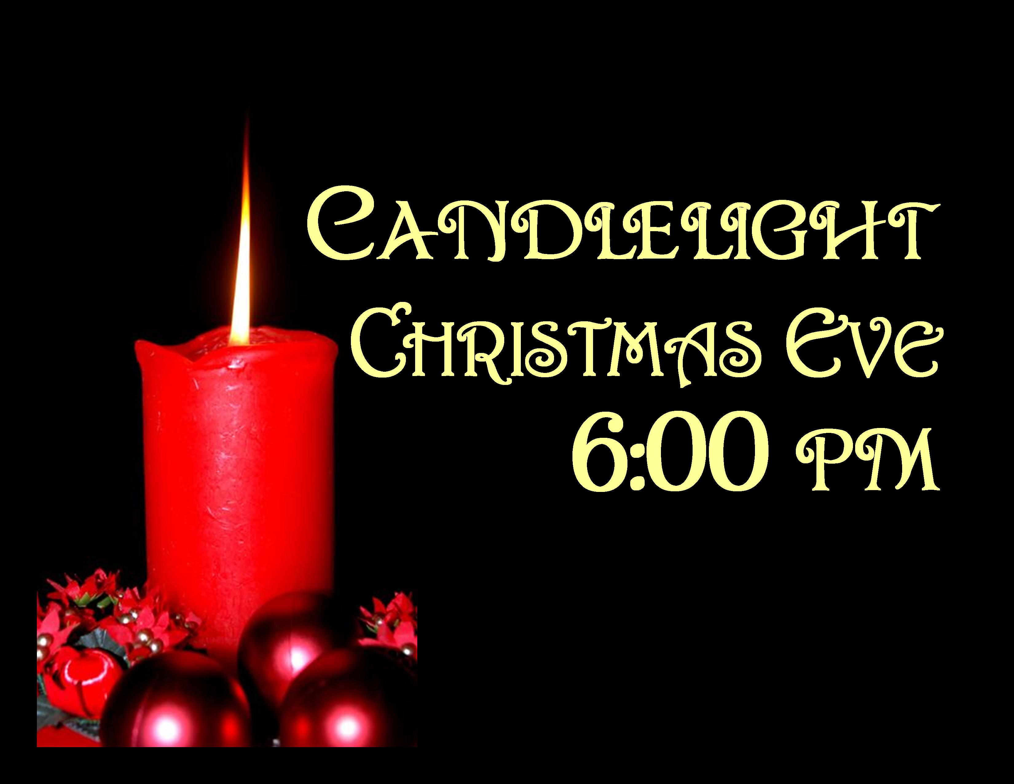 Christmas Eve Candlelight Service Clipart Christmas Eve Service