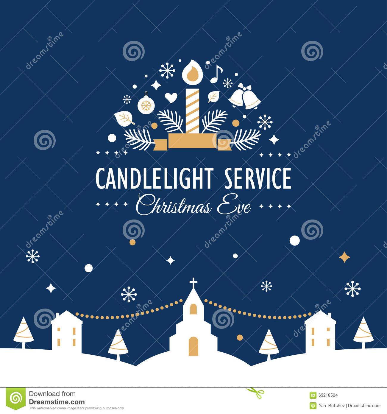 christmas eve service clipart - photo #6