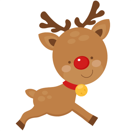 Cute reindeer head clipart - photo#24