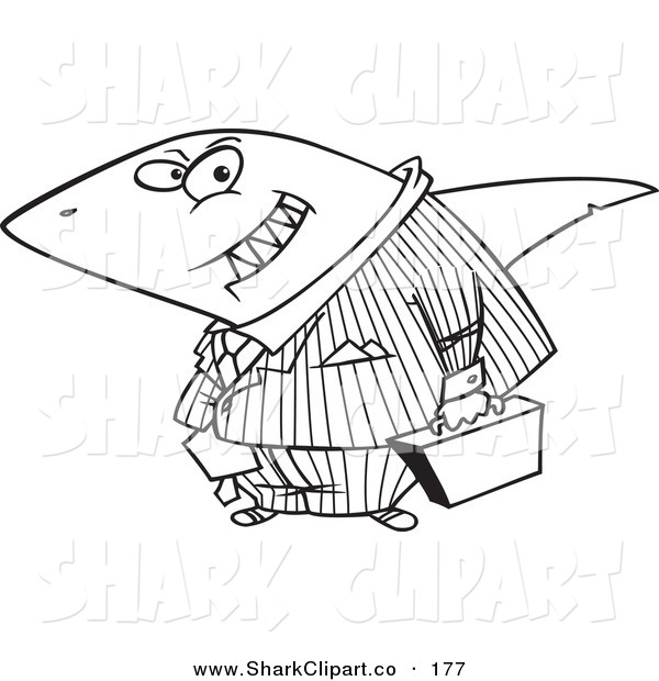 Clip Art Of A Cartoon Black And White Outline Design Of A Grinning