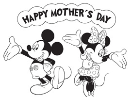 Disney Mother S Day Coloring Pages