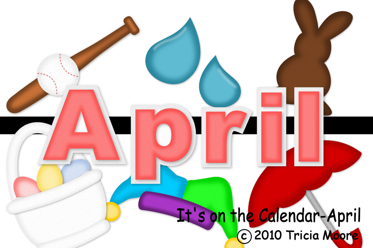 April Calendar Clip Art : April calendar clipart suggest