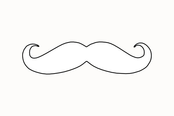 Clip Art Free Mustache Clip Art mustache printables clipart kid clip art at clker com vector online royalty free