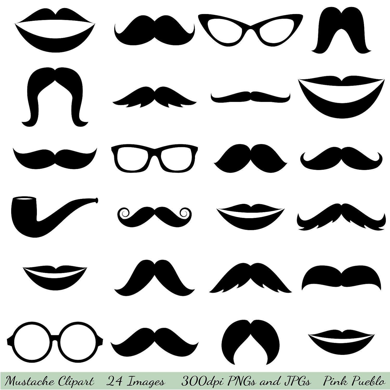 Clip Art Free Mustache Clip Art mustache printables clipart kid clip art glasses by pinkpueblo