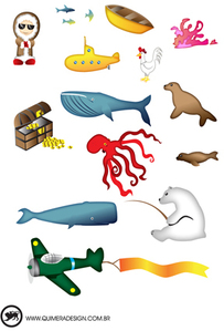 North Pole And Animals Vectors Clip Arts Free Clipart   Clipartlogo