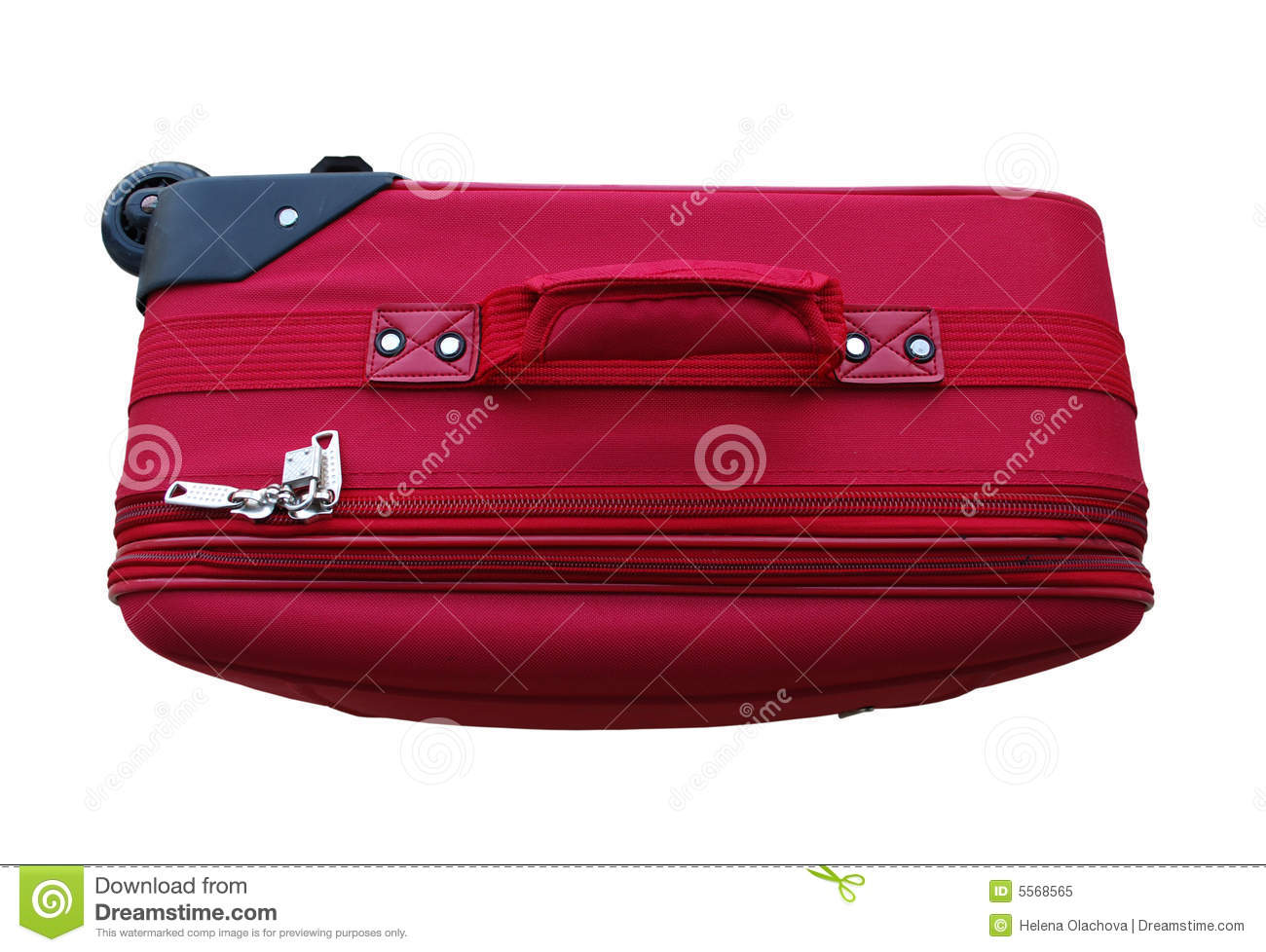 Red Carry On Luggage Royalty Free Stock Photo   Image  5568565