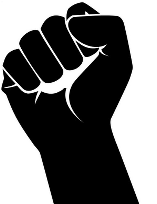 Their Site Displays A Fist In A Vector Art  If You Like It Feel Free