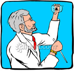 0060 0709 2614 0235 Man Doing Research Clipart Image Jpg