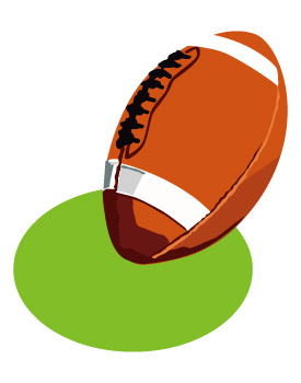 American Football Clipart - Clipart Kid