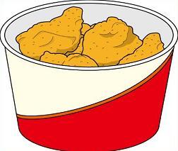 Fried chicken clip art - photo#28