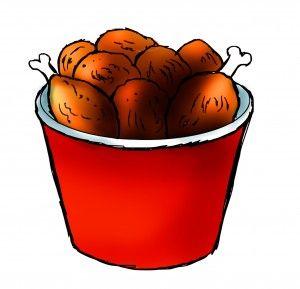 Chicken Bucket Clipart - Clipart Suggest