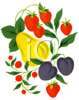 Canned Fruit Clip Art