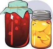 Canned Fruit Clipart Canned Goods