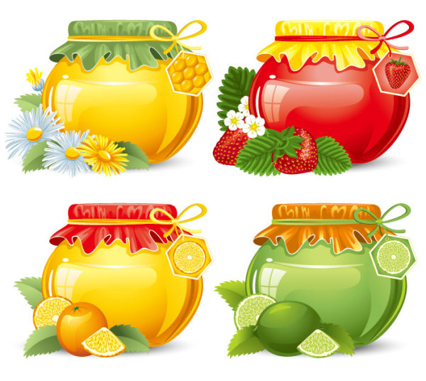 Canned Fruit Clipart Fine Canned Fruit Free Vector