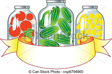 Canned Vegetables Clipart Canned Fruits And Vegetables
