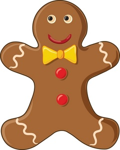Clip Art Gingerbread Cookies Clipart - Clipart Kid