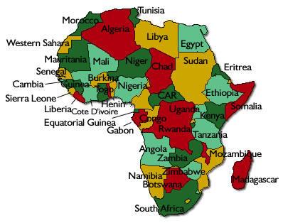 Etnolog A Y Prehistoria Ver Paises Africanos
