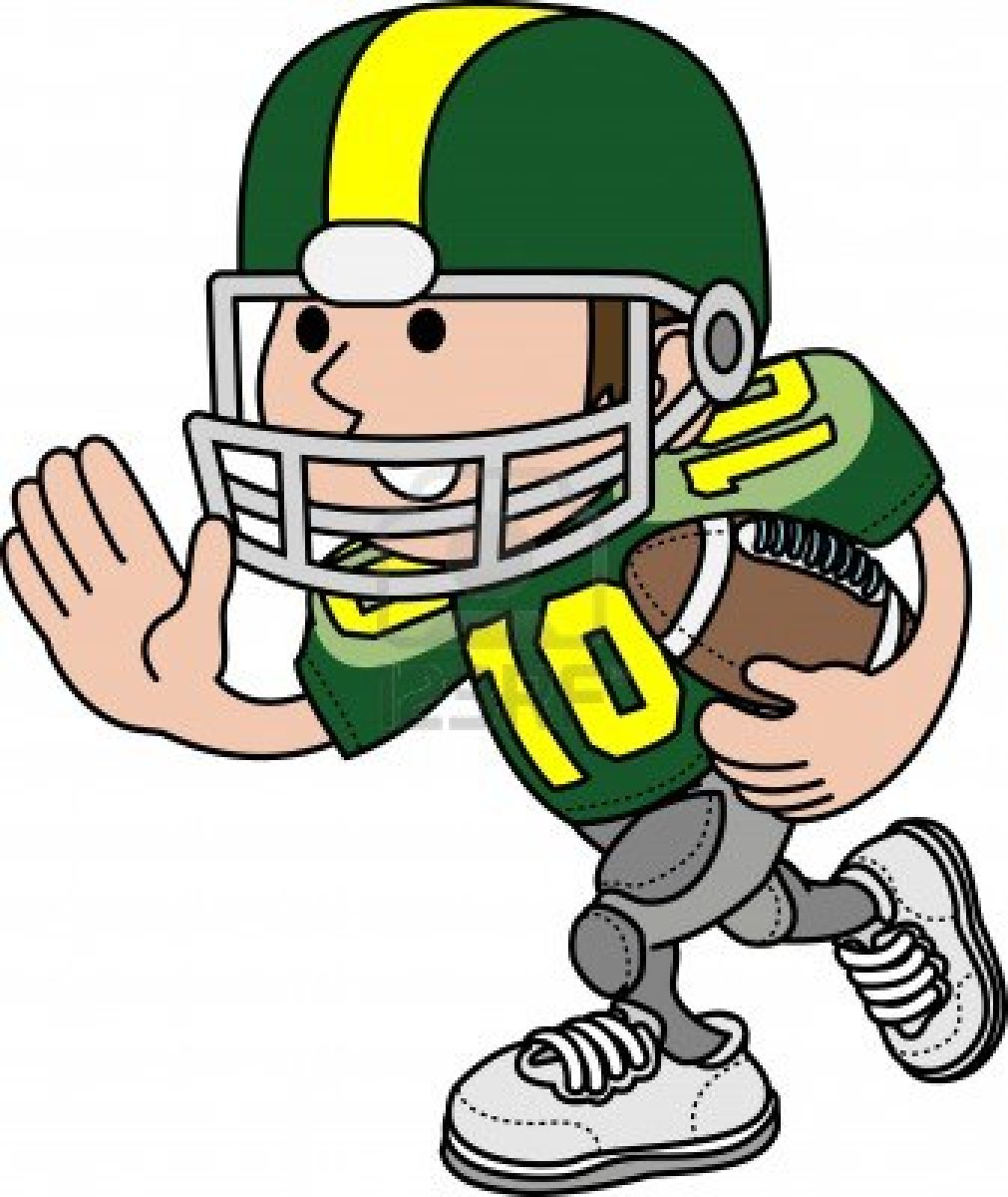 Football Player Running   Clipart Panda   Free Clipart Images