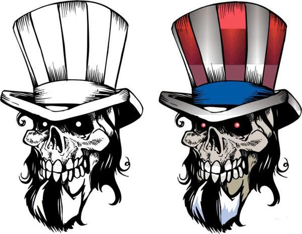 Skull Vector Clipart - Clipart Kid