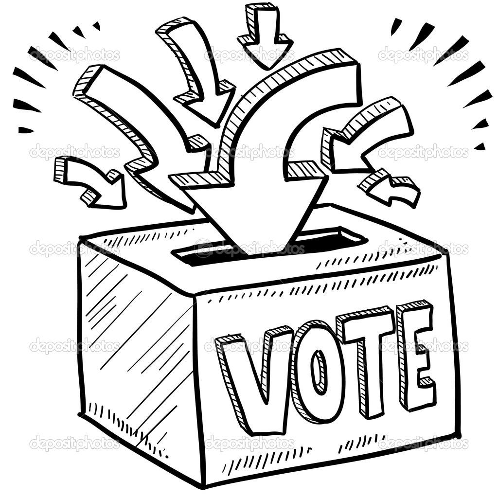 Voting Box Clipart - Clipart Kid