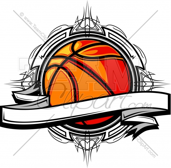 Basketball Clipart Logo Clipart In An Easy To Edit Vector Format