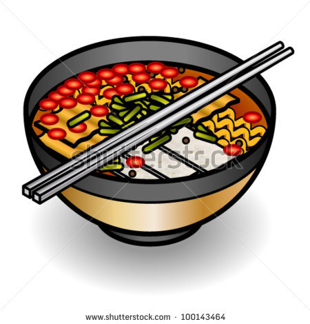 Bowl Of Hot Kimchi Noodles   Clipart Panda   Free Clipart Images