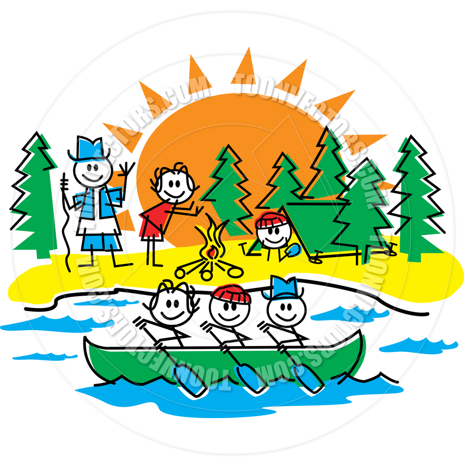 Camping Cartoon   Clipart Panda   Free Clipart Images