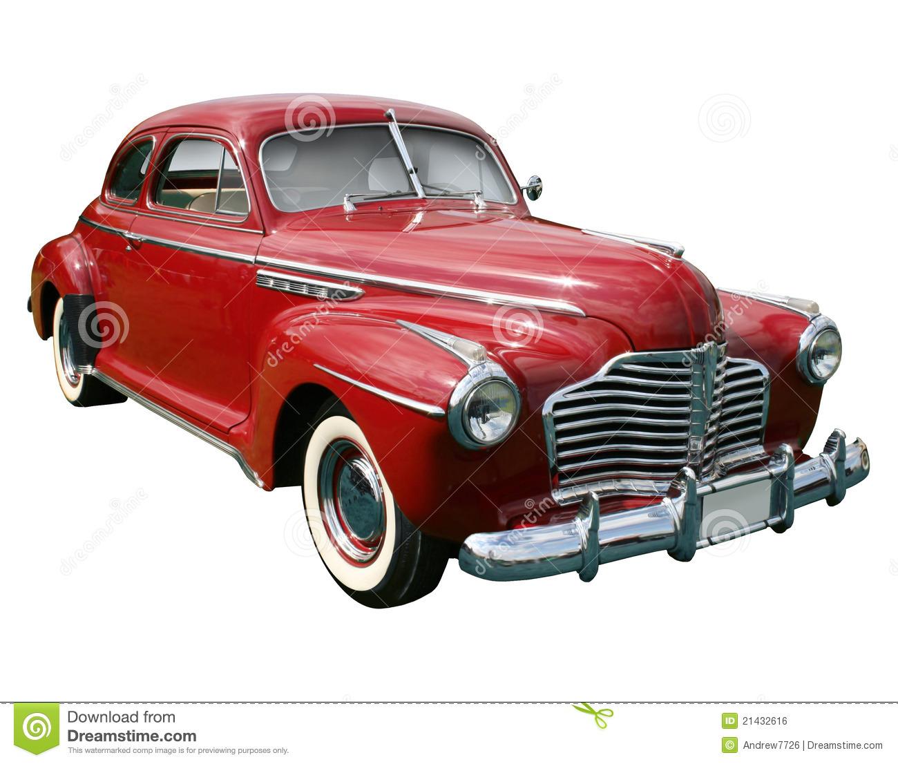 50s Classic Car Clipart - Clipart Kid