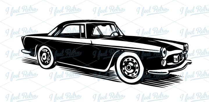 50s Car Clipart - Clipart Kid