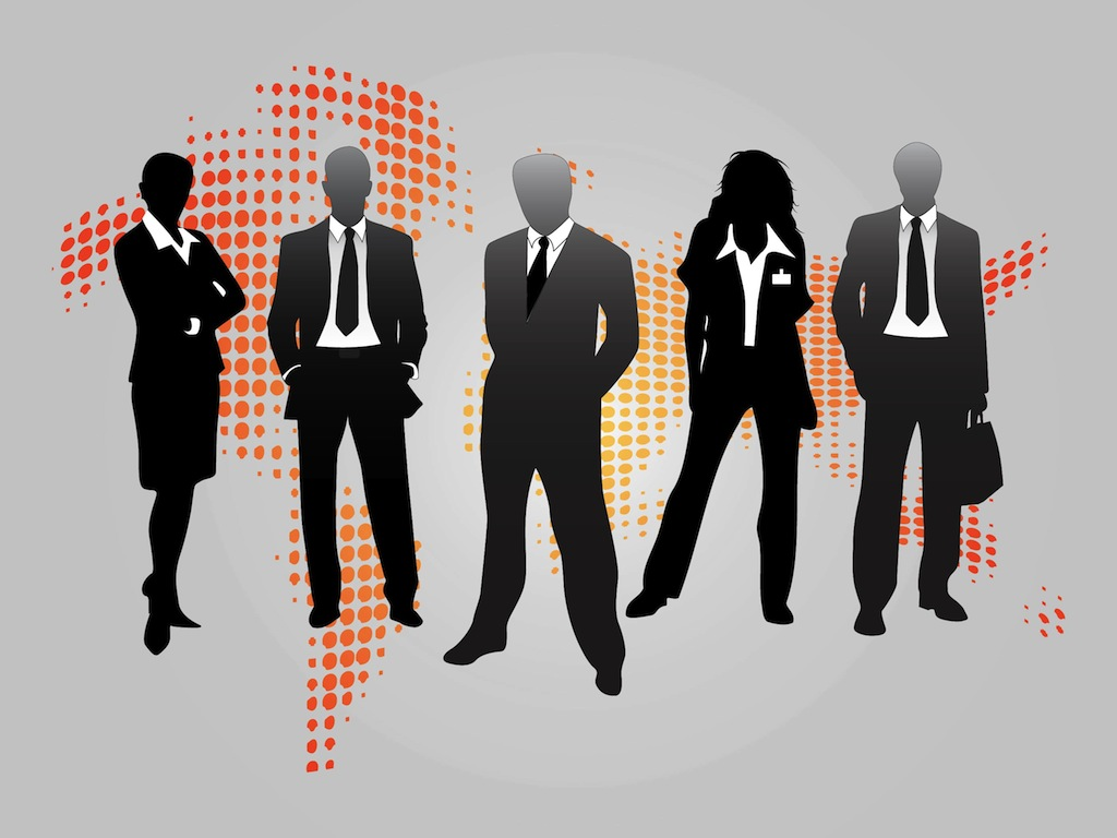 Clipart Business People At Work Business People Graphics